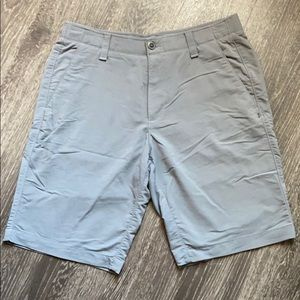 Men's Under Armour Gray Golf Shorts